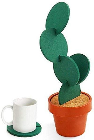 Sirensky Cactus Coaster (6-Piece)