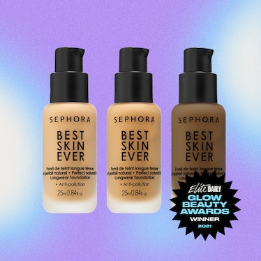 A product shot of Sephora's Best Skin Ever Foundation, the Best Foundation winner of Elite Daily's 2...