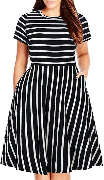 Nemidor Midi Dress with Pockets