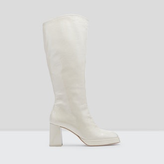 Eirlys White Boots