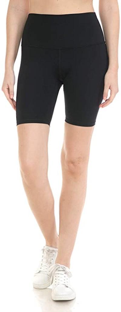 Leggings Depot High-Waisted Biker Shorts