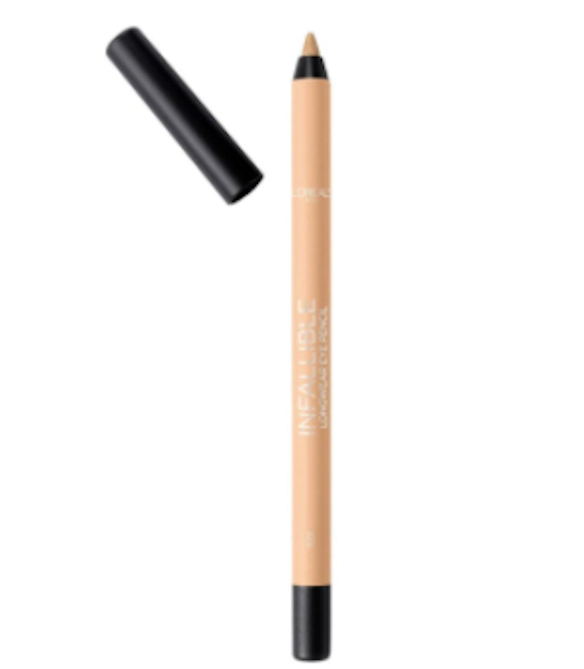 L'Oreal Infallible Pro-Last Waterproof Pencil Eyeliner in Nude