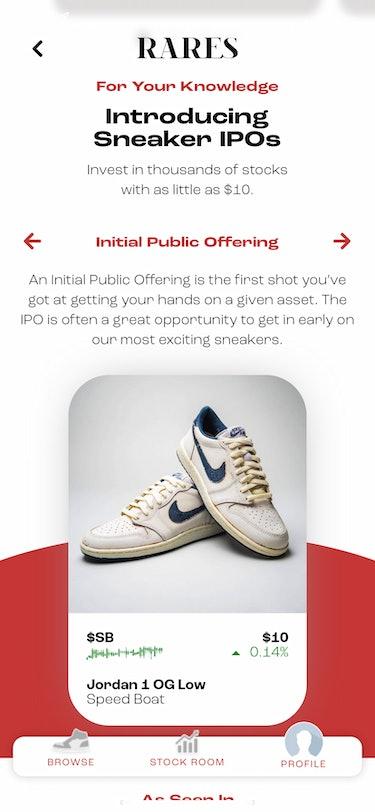 Rares Sneaker Trading