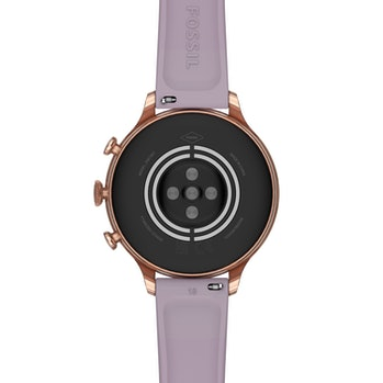 Fossil Gen 6 fitness smartwatch with purple band
