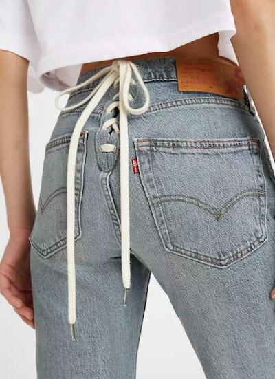 Levi's x Naomi Osaka Lace-Up Shorts