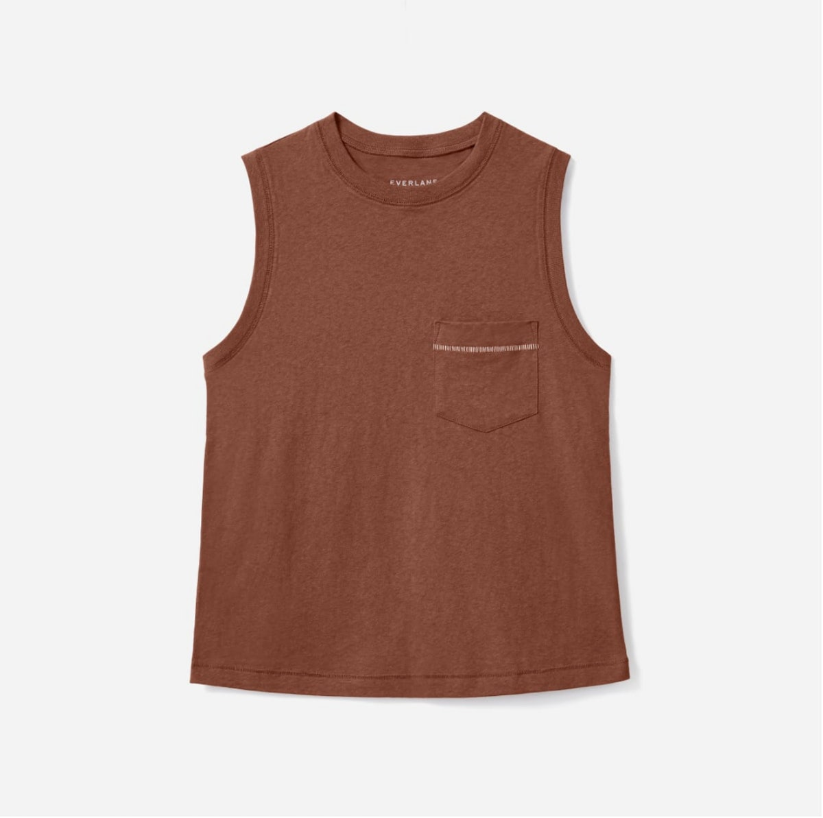 Everlane's ReCotton Muscle Tank.