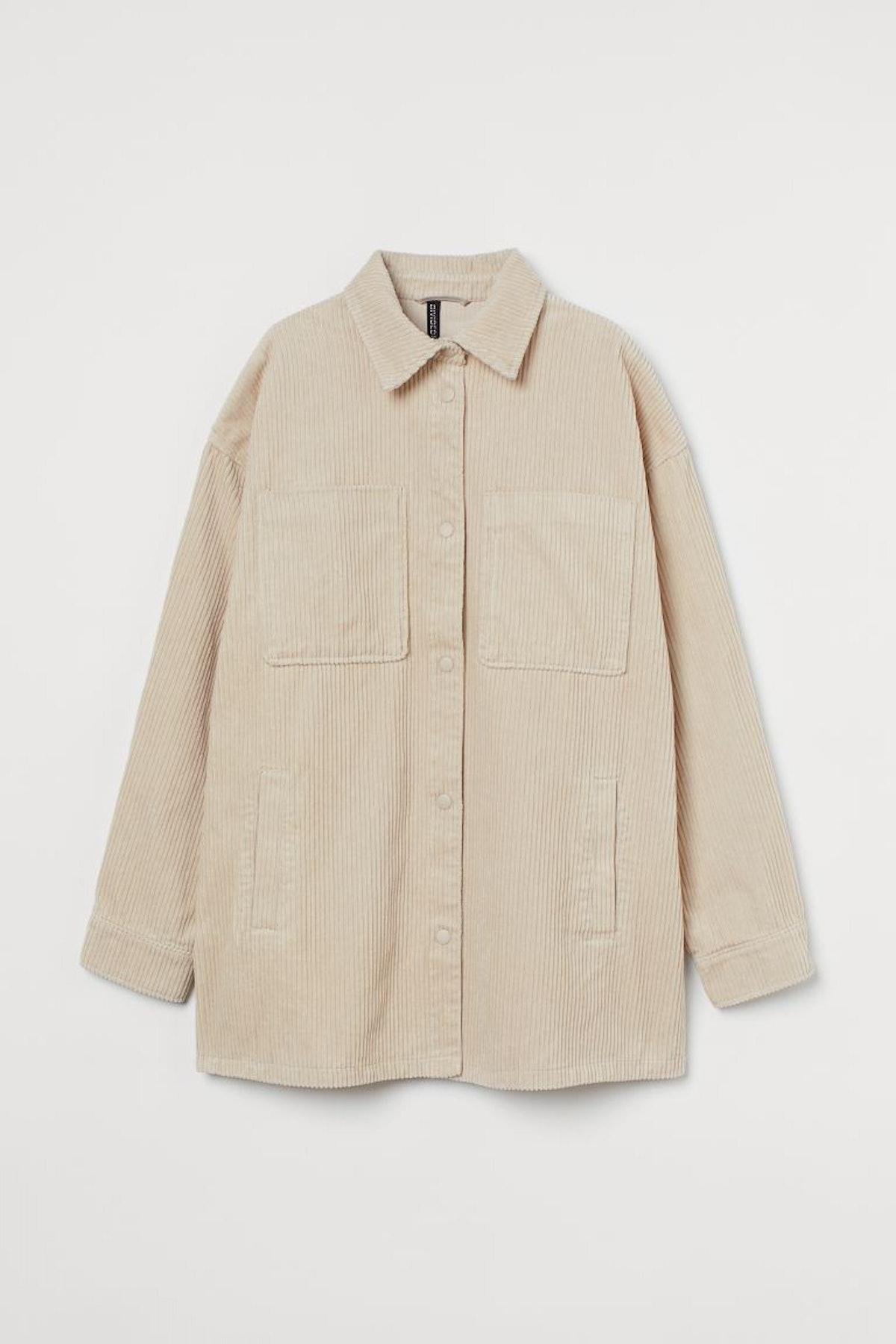 H&M Shirt Jacket.