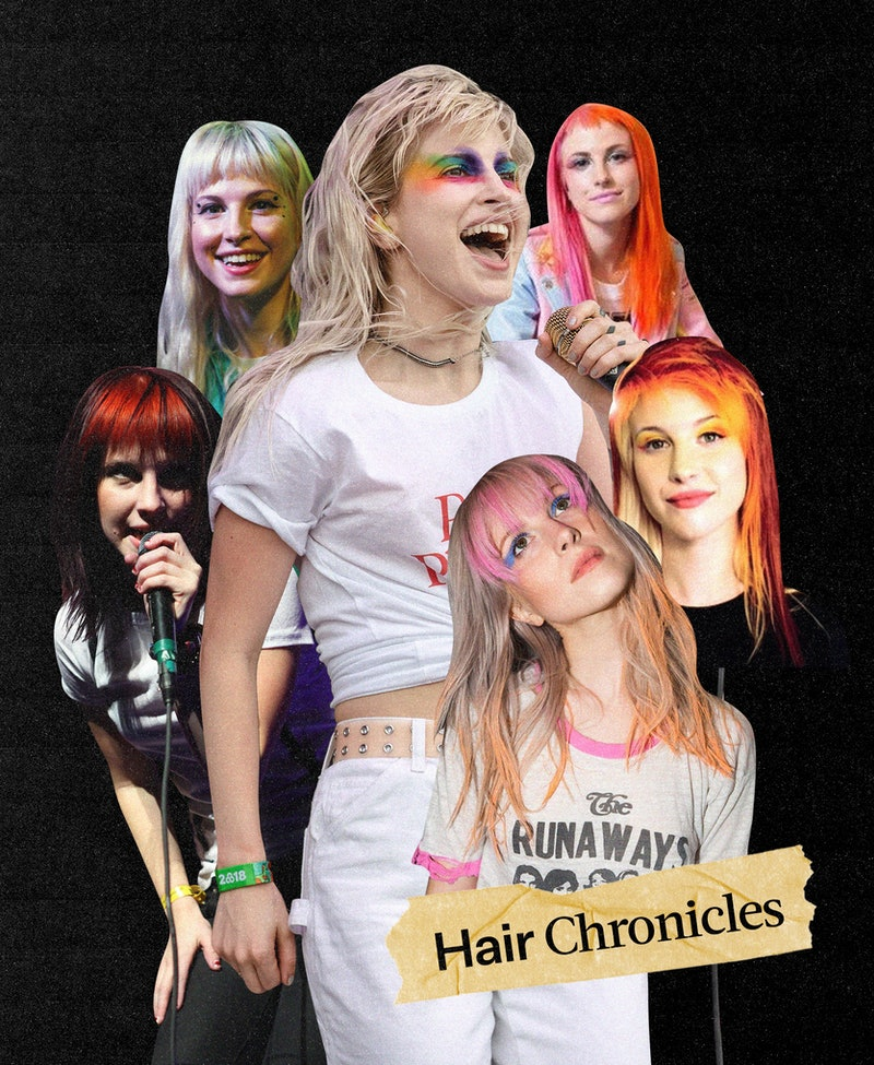 Paramore singer Hayley Williams and her longtime stylist Brian O'Connor tell Bustle about her most m...