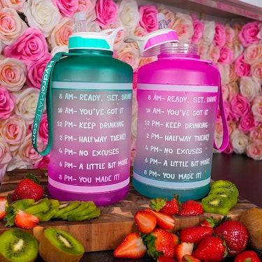 hydromate gallon water bottles