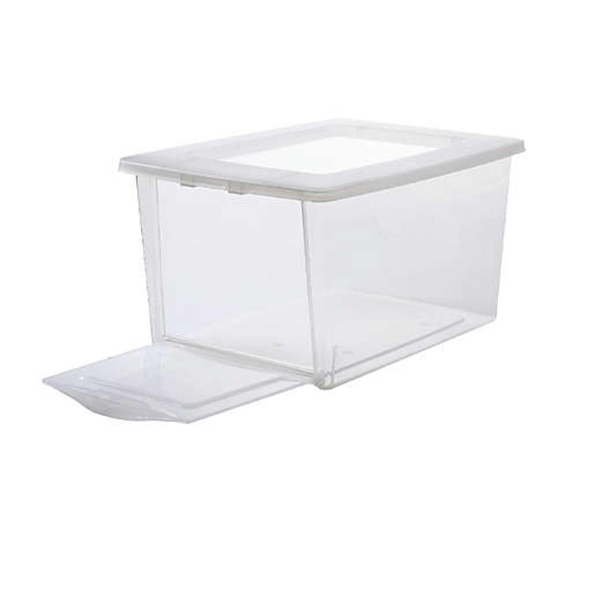 Simply Essential Drop-Front Storage Shoe Boxes (Set of 4)