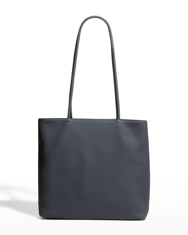 The Row Calfskin Medium Zip Shopper Tote Bag