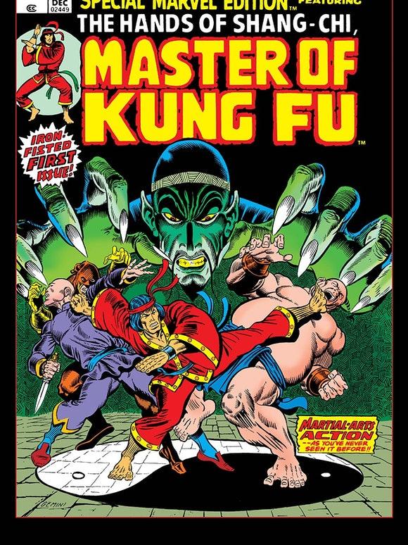 Shang-Chi made his comic book debut in Special Edition Marvel #15.