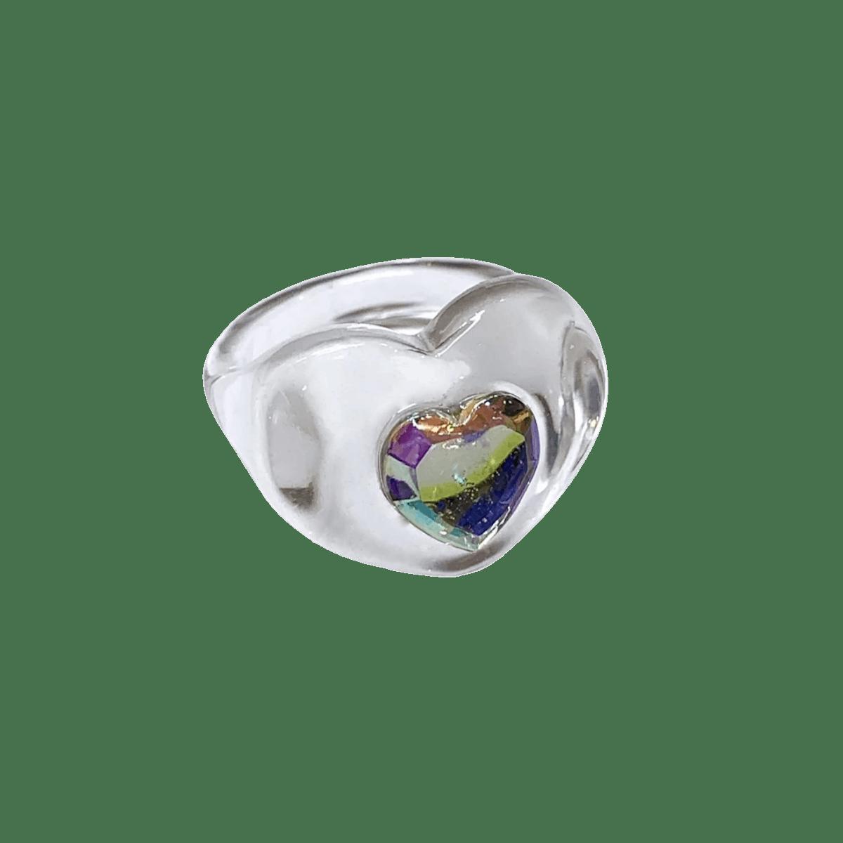 BONBONWHIMS Iridescent Heart Ring