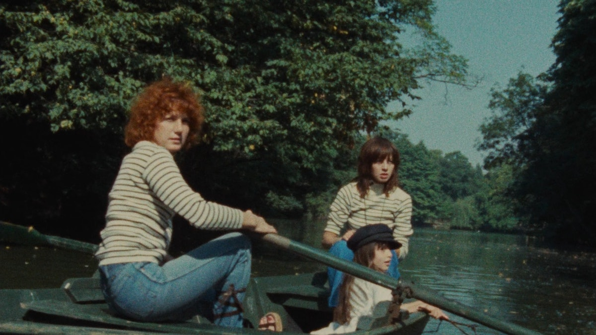 Celine and Julie on a boat
