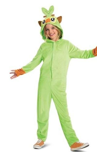 Grookey kid's Halloween costume