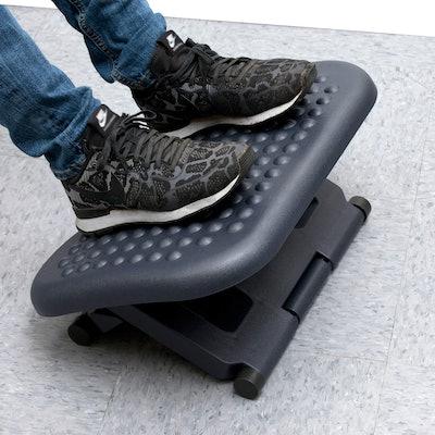 Mind Reader Adjustable Height Ergonomic Footrest