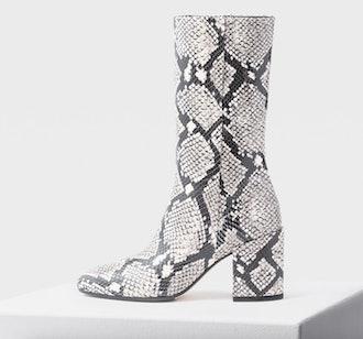 LORI snake print boots