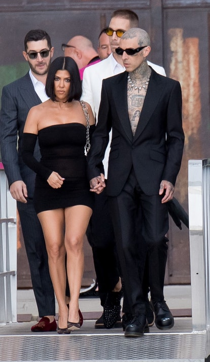 Kourtney Kardashian and Travis Barker's date outfits are a '90s grunge dream. Here are their best co...