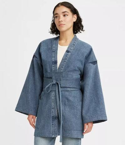 Levi's x Naomi Osaka Denim Kimono Jacket & Obi Set