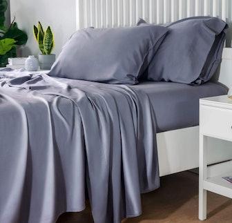 Bedsure 100% Bamboo Sheet Set (4 Pieces)
