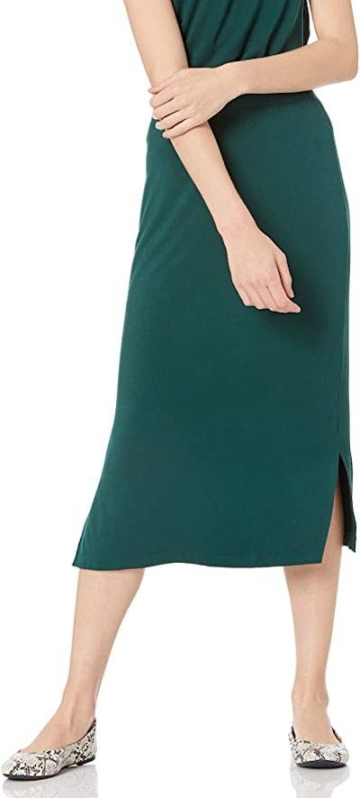 Amazon Essentials Knit Midi Skirt