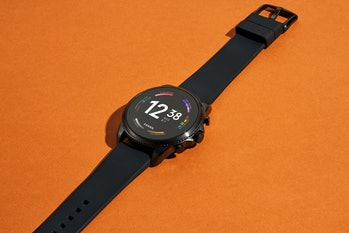 Fossil Gen 6 smartwatch with black band