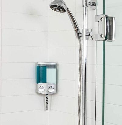 Better Living Products 2-Chamber Shower Dispenser