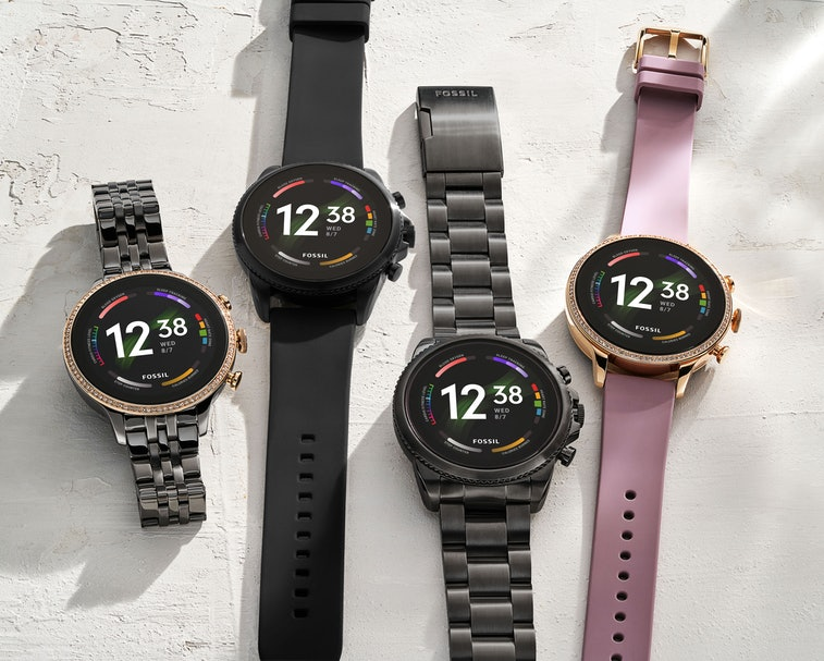 Fossil Gen 6 Smartwatch in different styles and colors