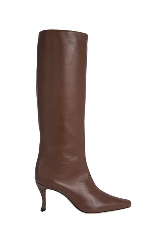 stevie 42 chestnut leather boots