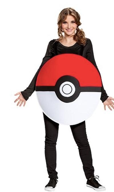 Adult pokeball costume
