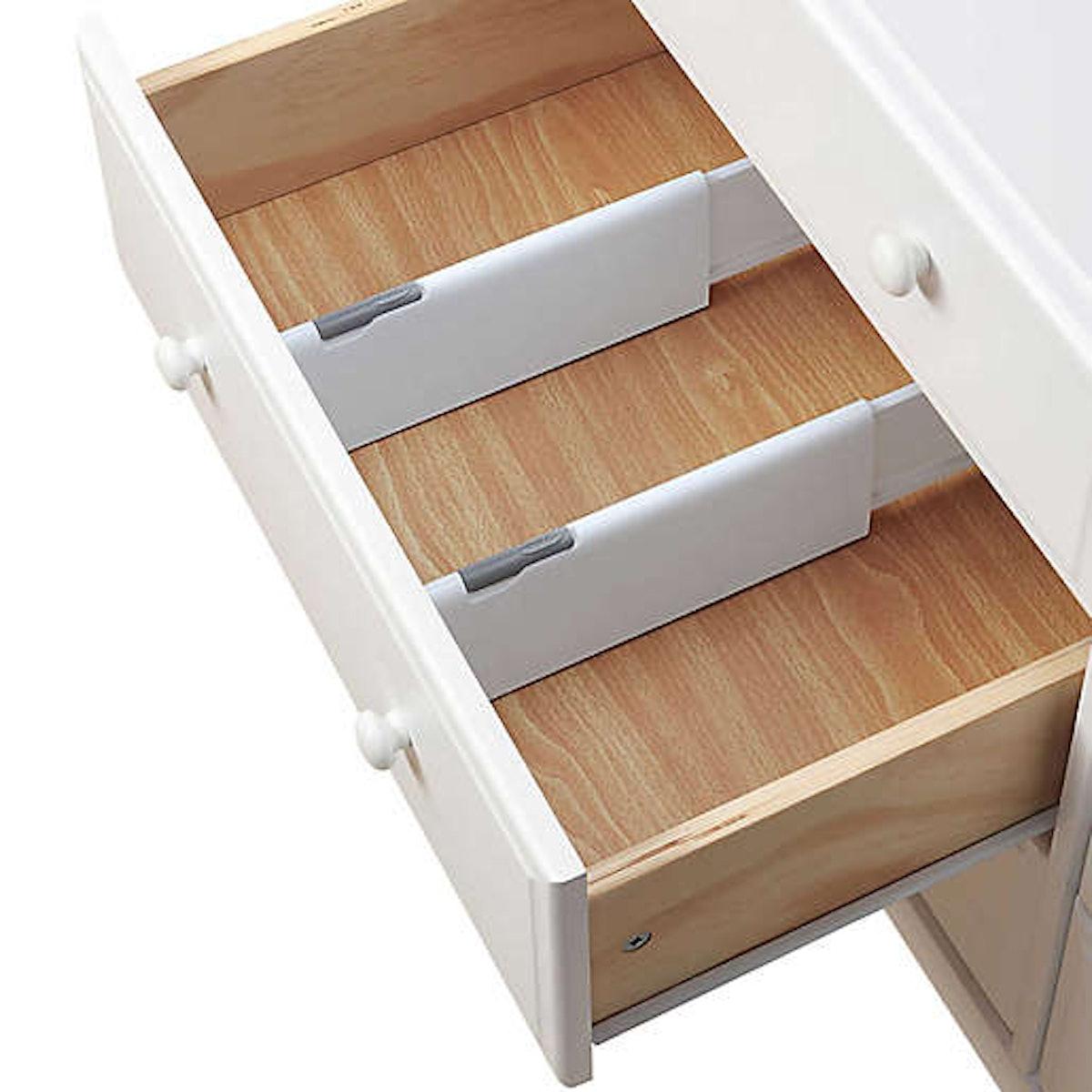 OXO Good Grips Expandable Dresser Drawer Divider (Set of 2)