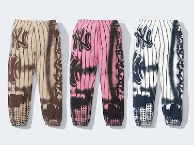 Supreme Yankees Airbrush Sweatpants