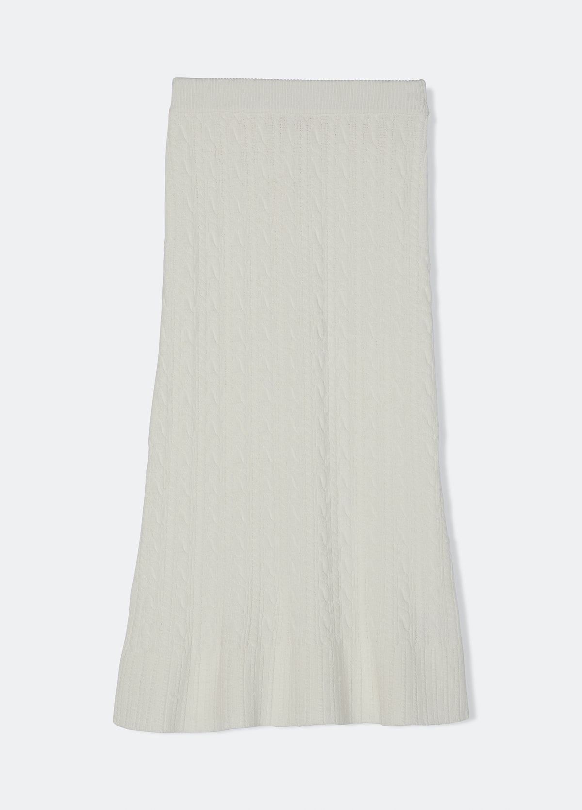 Rebecca Taylor Cable Flare Skirt