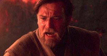 Obi-Wan Kenobi Anakin Skywalker Darth Vader leak