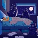 sleep, good sleep, nightmares