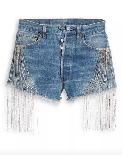 Levi's x Naomi Osaka Crystal Shorts