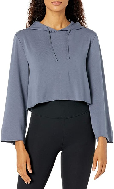 Core 10 Cloud Soft Cropped Bell Sleeve Relaxed Fit Yoga Sweatshirt