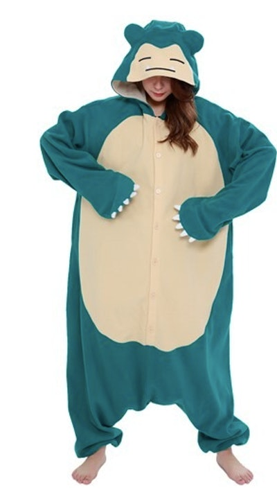 Adult Snorlax Pokemon costume