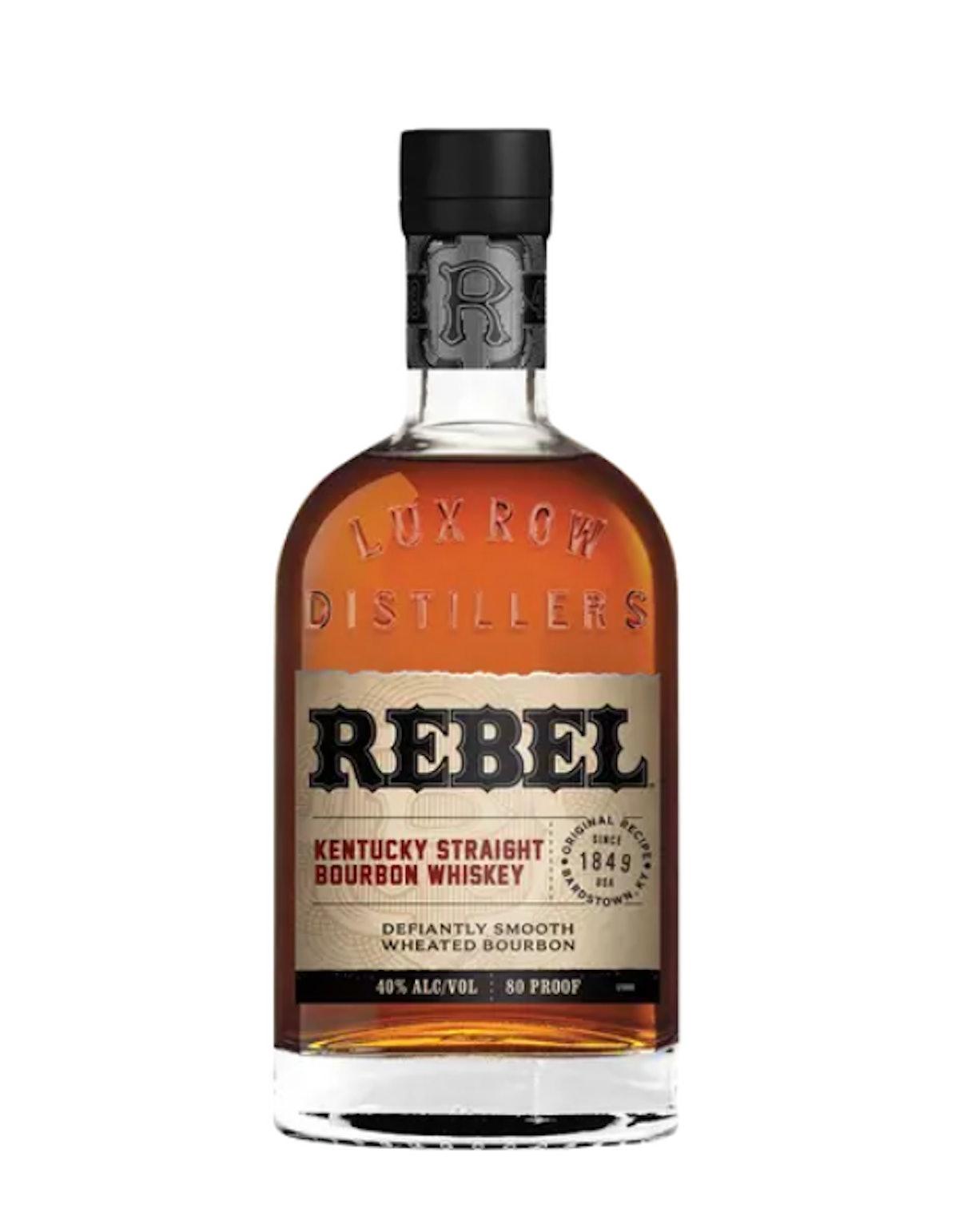 Rebel Kentucky Straight Bourbon Whiskey 80 Proof