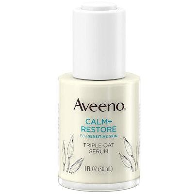 Aveeno Calm + Restore Triple Oat Hydrating Face Serum