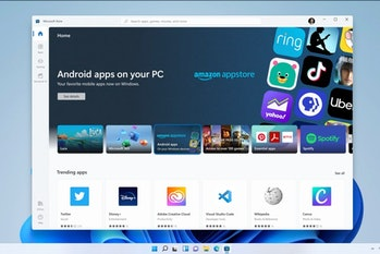 Microsoft is releasing Windows 11 on October 5, but Android app support will be absent for now.