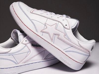 Reebok x BAPE Club C sneaker