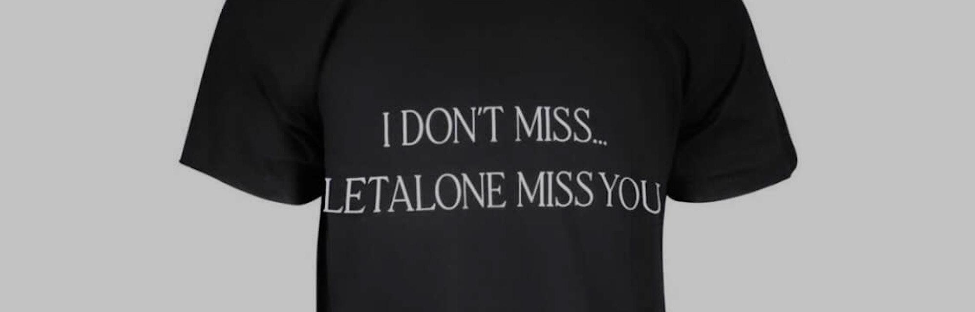 Drake Certified Lover Boy Nike T-Shirt