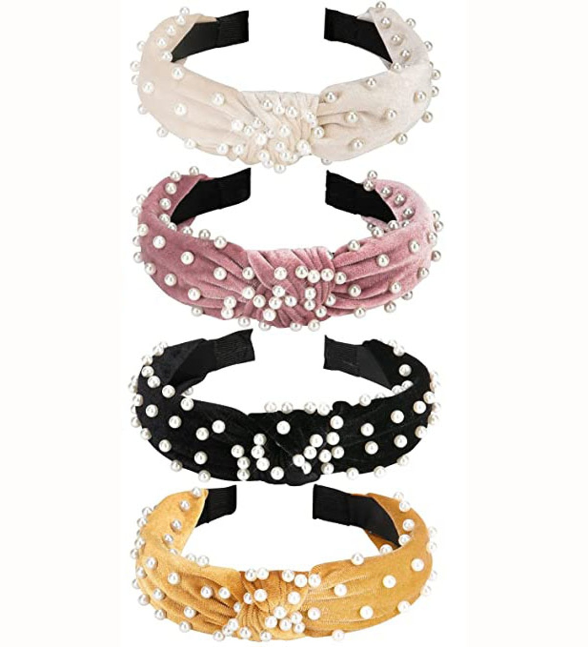 Allucho Velvet Headbands (4-Pack)