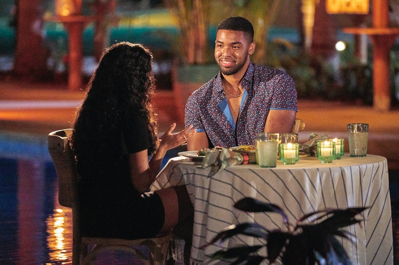 'Bachelor In Paradise' cast members Ivan Hall and Jessenia Cruz on a date.