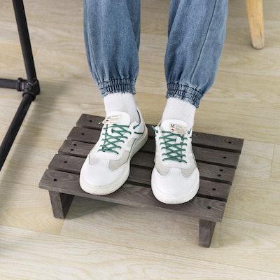 MyGift Wooden Footrest