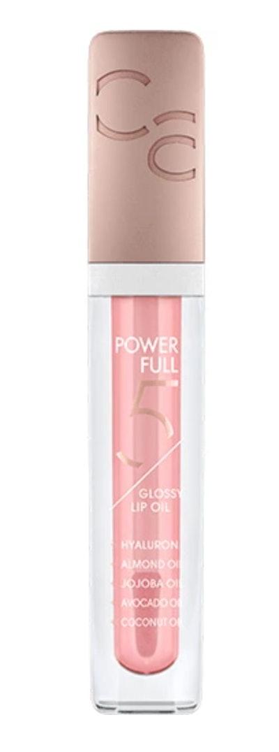 Powerfull 5 Glossy Lip Oil - Cherry Blossom Glow