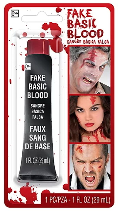 Use fake blood to splatter on a shirt to make a DIY Creed Bratton Halloween costume.