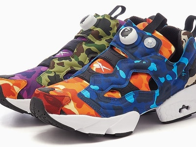 Reebok x BAPE Instapump Fury sneaker