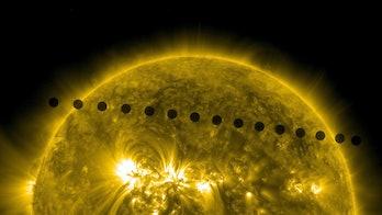 Venus, Sun